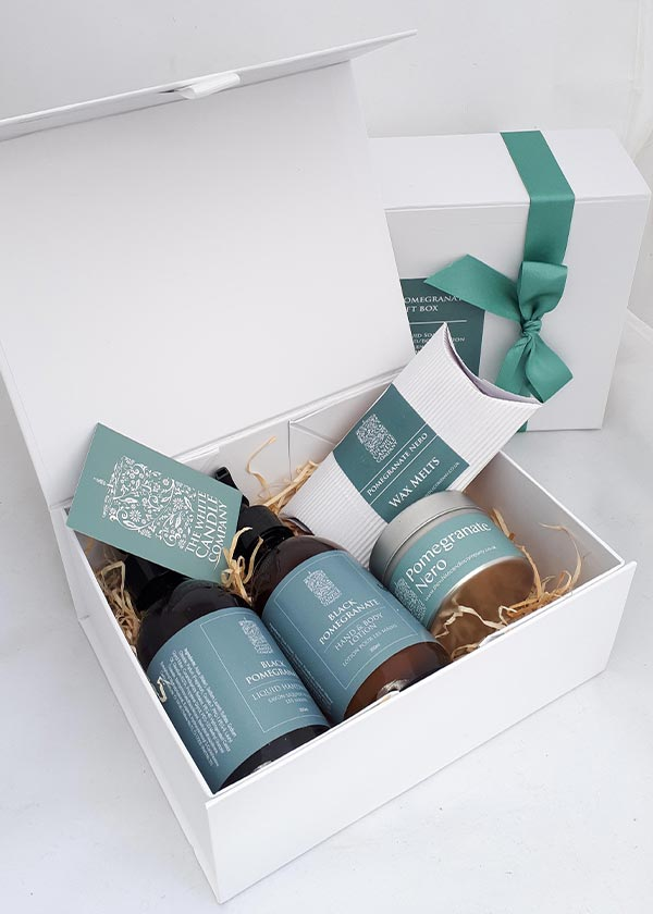 Candle Gift Box Set - Hand Lotion, Wax Melts and Candle