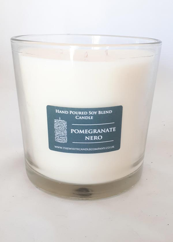 Traditional Green Label Candle 700g Glas