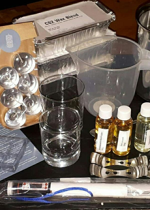 Candle Making Kit - Large - The White Candle Company