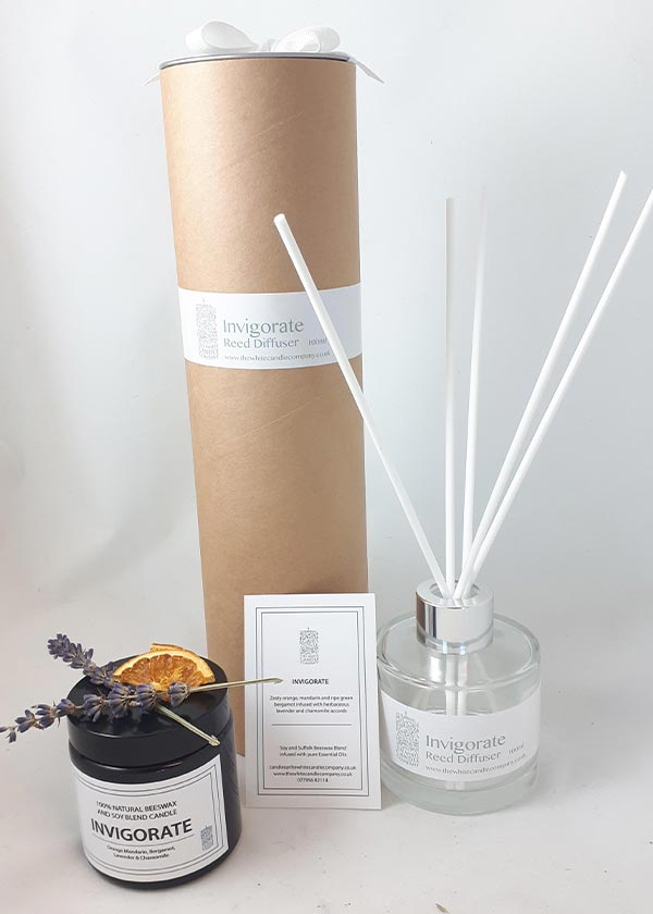 Diffusers - Pure Range - The White Candle Company