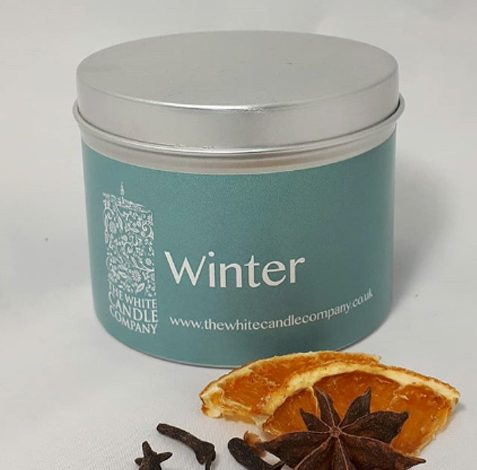 Winter Candles - White Candle Company, Lavenham, Suffolk