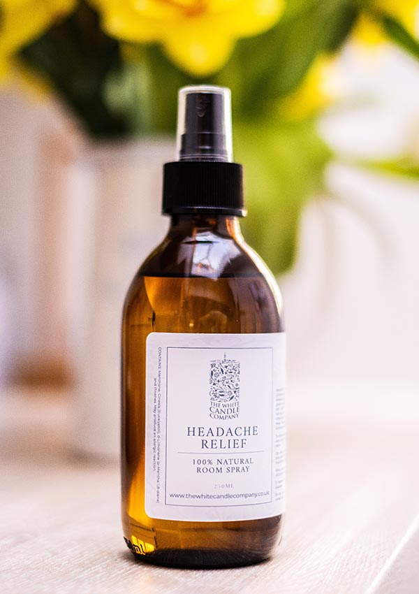 Headache Relief Room Spray, Helps with headache and migraines